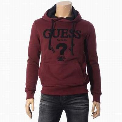 sweat a capuche guess rouge sweat guess promo vente en gros sweat guess. Black Bedroom Furniture Sets. Home Design Ideas